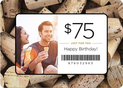 Happy Birthday Male Wine ~ Volo gift cards u volo restaurant wine bar